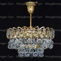 Люстра хрустальная Катерина 1 лампа подвес шар