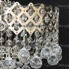 Люстра хрустальная Корона № 1 1 лампа