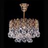 Люстра хрустальная Корона № 1 1 лампа подвес