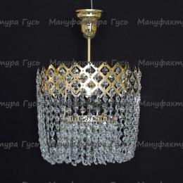 Люстра хрустальная Корона № 3 1 лампа подвес