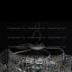 Люстра хрустальная Космос конус 30 мм