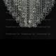 Люстра хрустальная Лилия № 3 шар