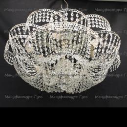 Люстра хрустальная Лотос Пион 6 ламп