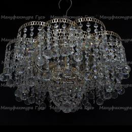 Люстра хрустальная Лотос 4 лампы шар