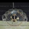 Люстра хрустальная Лотос 5 ламп с подвесом