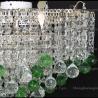 Люстра хрустальная Ромашка Крона шар 30 мм зеленая