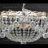 Люстра хрустальная Анжелика 3 лампы шар