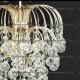 Люстра хрустальная Хрустальные брызги с подвесом шар 30 мм