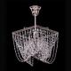 Люстра хрустальная Квадрат 1 лампа Василиса с подвесом