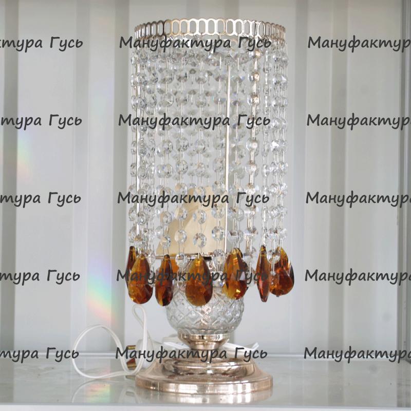 Настольная лампа Виктория № 2 дубик чайный