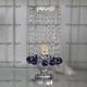 Настольная лампа Виктория № 2 шар 30 мм синий