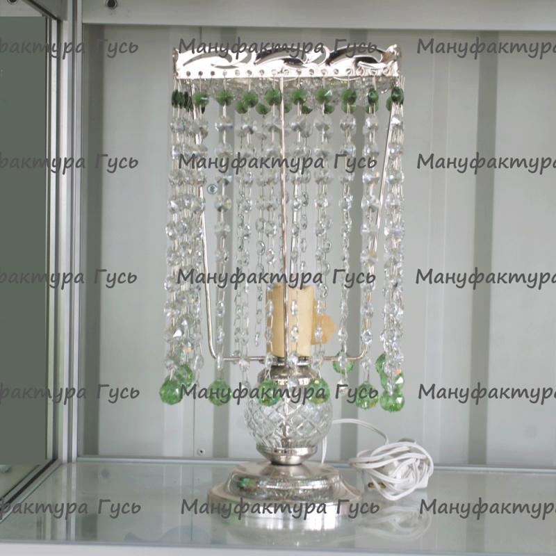 Настольная лампа Престиж № 2 шар 20 мм розовый