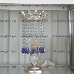 Настольная лампа Элит № 2 карандаш синий