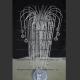 Торшер Каскад высокий шар 40 мм