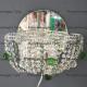 Бра хрустальное Лотос Тюльпан с шариком 30 мм