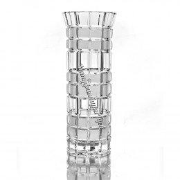 Хрустальная ваза для цветов «Бисер» средняя