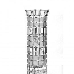 Хрустальная ваза для цветов «Бисер» маленькая