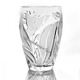 Хрустальная ваза для цветов «Калатея»