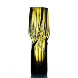 Хрустальная ваза для цветов «Архитектон» длиная