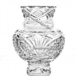 Хрустальная  ваза для цветов «Сюрприз»