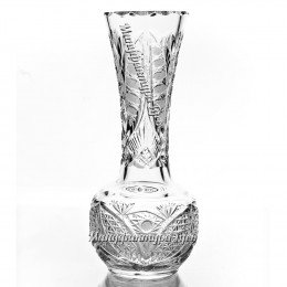 Хрустальная  ваза для цветов «Лампа Алладина» произвольный рис.