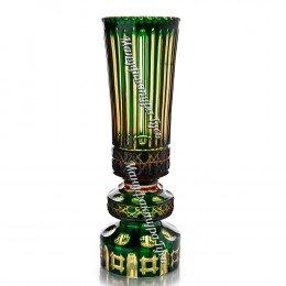 Хрустальная декоративная ваза «Кружево» произвольный рис.