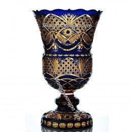Хрустальная  ваза для цветов «Лаура»