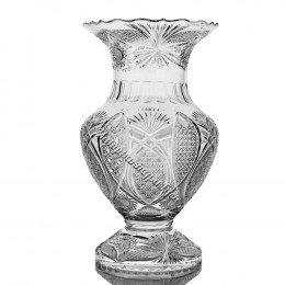 Хрустальная  ваза для цветов «Классика»