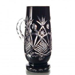 Хрустальная кружка для пива «Банзай» цв.черный