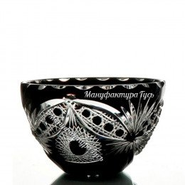 Хрустальная ваза для конфет  «Серенада»,  произвольный рисунок