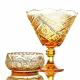 Хрустальная ваза для фруктов  «Космос»