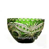 Хрустальная ваза для конфет «Серенада» рис. произвольный