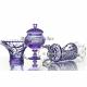Хрустальная ваза для конфет «Любава» (на ножке)