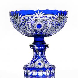 Хрустальная ваза для фруктов  «Торжество»