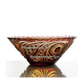 Хрустальная ваза для фруктов «Кармен»