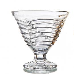 Хрустальная ваза для крема