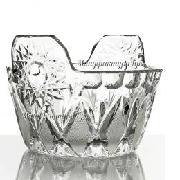 Хрустальная ваза для стола «Ушат»