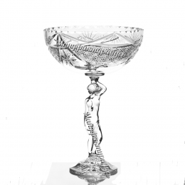 Хрустальная ваза для фруктов «Прекрасная Елена»