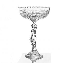 Хрустальная ваза для печенья «Прекрасная Елена»