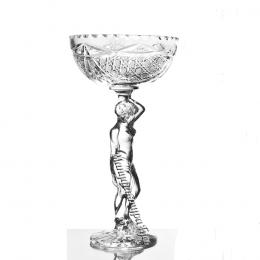 Хрустальная ваза для конфет  «Прекрасная Елена»