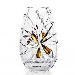 Хрустальная декоративная ваза «Фристайл» выс.