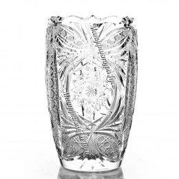 Хрустальная ваза для цветов «Пион»