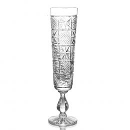 Хрустальный набор бокалов «Лубок»