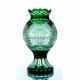 Хрустальная декоративная  ваза  «Каменный цветок»