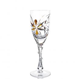 Набор хрустальных бокалов для шампанского Фристайл 6шт