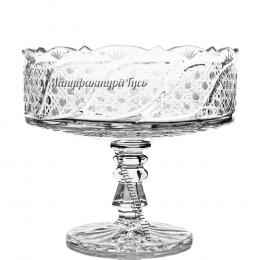 Хрустальная ваза для фруктов «Шведка»