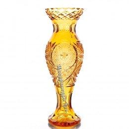 """Хрустальная ваза для цветов  """"Журавлик"""", ср."""