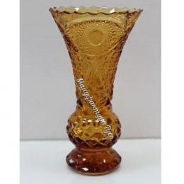 """Хрустальная ваза для цветов """"Тюльпан"""" мал. рис. """"Произвольный"""""""