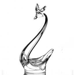 Хрустальное декоративное изделие «Лебедь»