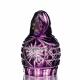Хрустальное декоративное изделие «Матрешка» цв.фиолетовый